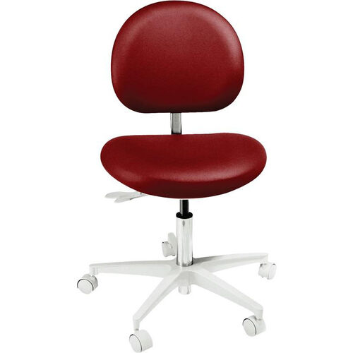 DX-3100 Series - Operator Stool with Stitched Upholstery