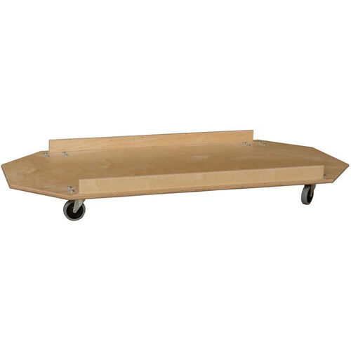 Wooden Cot Carrier with Locking Casters - 25