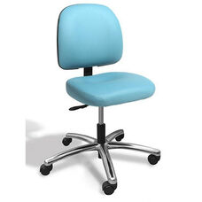 Dimension Small Back Desk Height ESD Chair - 4 Way Control