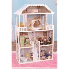 Savannah Elegant Mansion Dollhouse for 12
