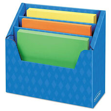 Bankers Box® Folder Holder with Compartment Organizer - 12 1/2 x 9 x 5 5/8 - Blue
