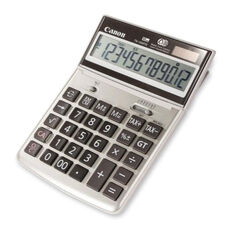 Canon 12 Digit Desktop Calculator - 7 3/4