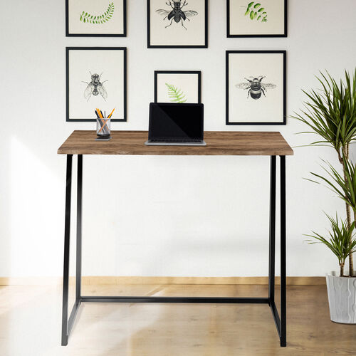 "Our Small Rustic Natural Home Office Folding Computer Desk - 36"" is on sale now."