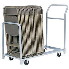 Folded or Stacked Chair Tote with Push Handle - 22