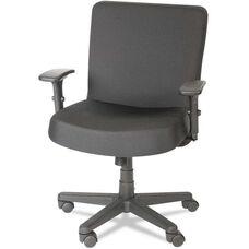 Alera Plus™ XL Series Big and Tall Mid-Back Task Arm Chair - Black