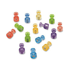 Quartet Assorted Colors Magnetic Push Pins - Pack Of 20