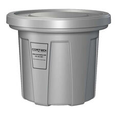 20 Gallon Cobra Flame Retardant Trash Can - Gray
