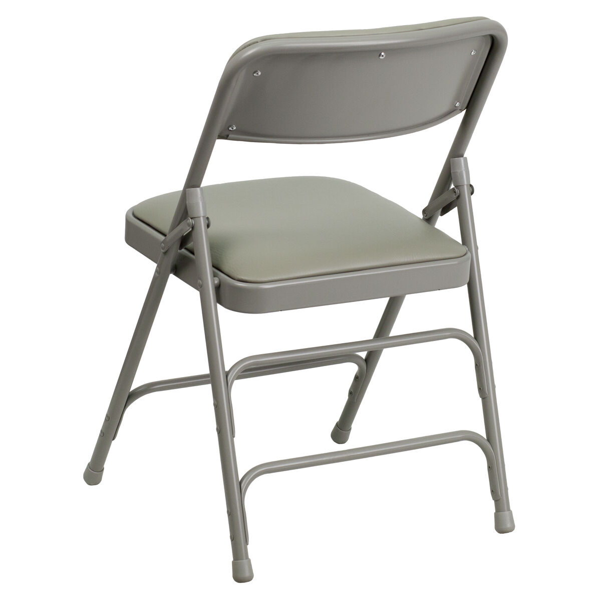 Gray Vinyl Folding Chair Ha Mc309av Gy Gg