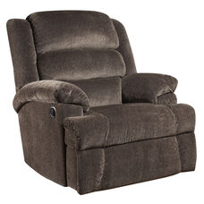 Big & Tall 350 lb. Capacity Aynsley Charcoal Microfiber Recliner