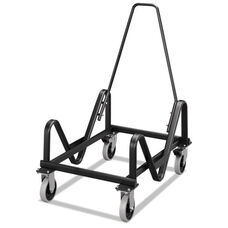 HON® GuestStacker Cart - 21-3/8 x 35-1/2 x 37-7/8 - Black