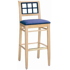 598 Bar Stool w/ Upholstered Seat - Grade 1