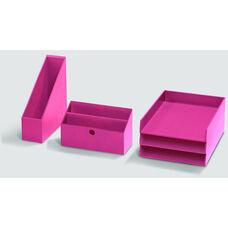 Bright Desk Organizing System Desktop Box Set - Navy