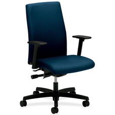 The HON Company Mid-Back Executive Chair with Adjustable Arms - Mariner