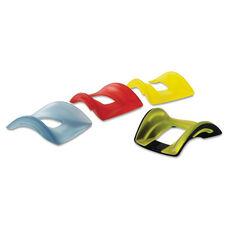 Kensington® SmartFit Wrist Rest - Interchangeable Colored Inserts - Black Pad/Cover - Set