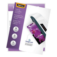 Fellowes® ImageLast Laminating Pouches with UV Protection - 3mil - 11 1/2 x 9 - 50/Pack