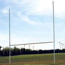Classic Galvanized Steel Goal Posts - Set of 2