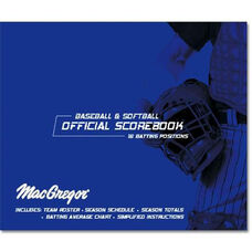 MacGregor® Baseball and Softball Oversized Scorebook