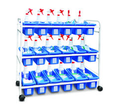 Personal Storage Tub Cart