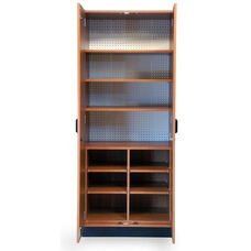 Store-Wall™ Storage System Cabinet with Three Laminate Shelves