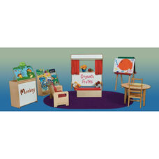 Wooden Infant and Toddler Literacy Package