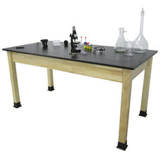 BS-PH Series Chemical Resistant Science Table with Solid Phenolic Resin Top