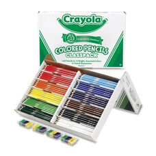 Crayola Classpack Colored Pencils - 240/Box - 12 Assorted Colors