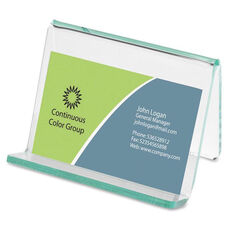 Lorell Business Card Holder - 3 -1/4