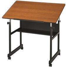 MiniMaster Woodgrain Top Drawing Table - 36