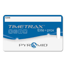 Pyramid Time Systems Timetrax Prox Time Card Badges - Pack Of 15