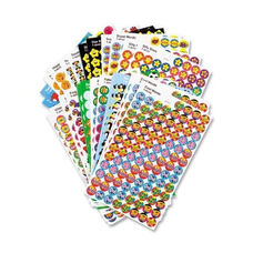 Trend Enterprises Stickers - Superspots/Supershapes - 5100/PK - Assorted