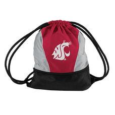 Washington State University Team Logo Spring Drawstring Backsack