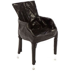 Ghost Chair with Arms Storage Bag