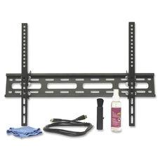 Lorell Large Tilt Mount Combo Pack - 77lb Capacity - Black