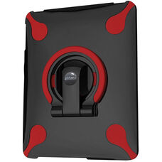 MultiStand for iPad 1 -Black Shell with Black and Red Ring
