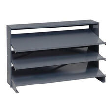 Sloped Shelving Bench Pick Rack Unit