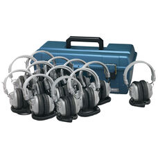 12 SC7V Deluxe Headphones with Carrying Case