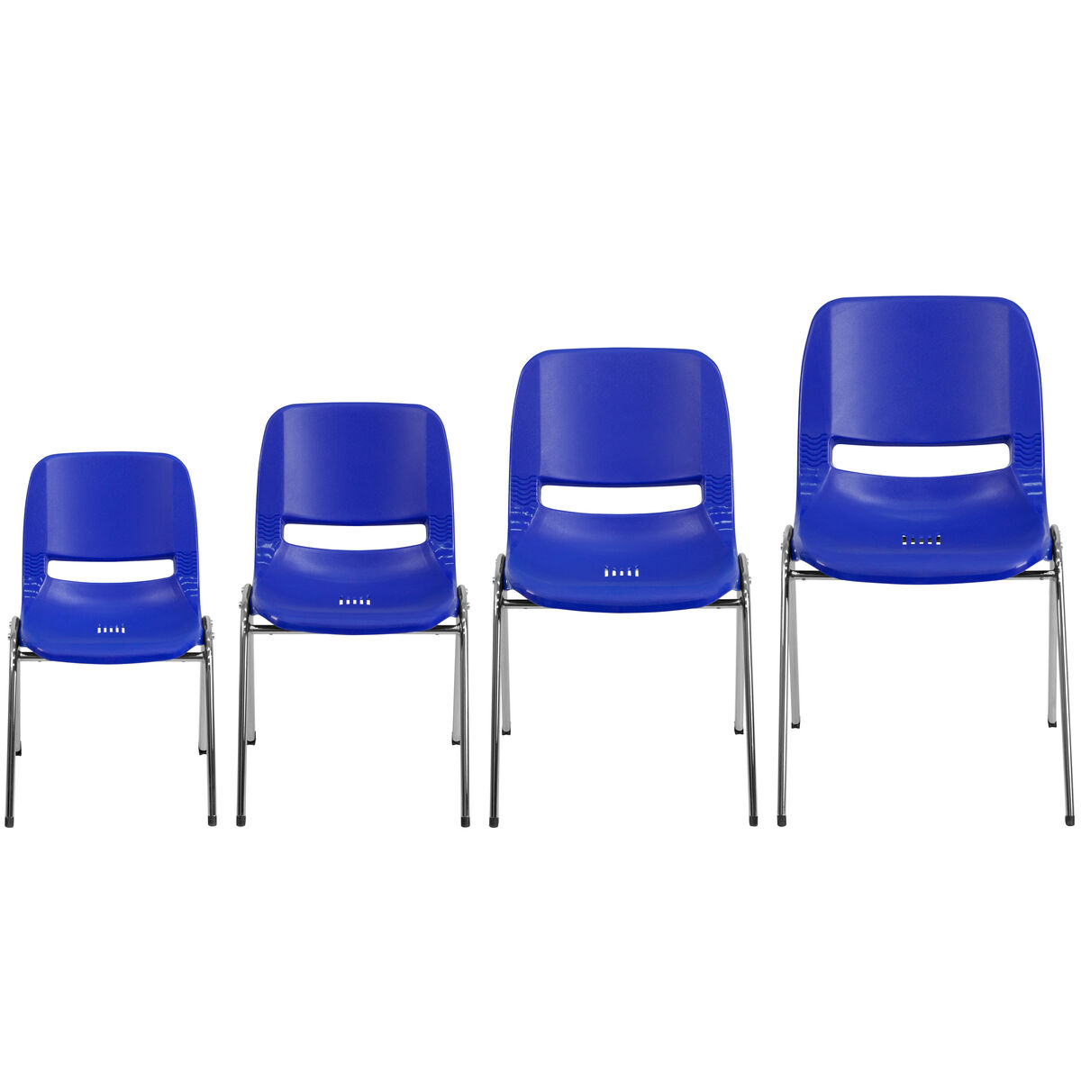 Navy plastic stack chair rut 18 nvy chr gg for Furniture 4 schools
