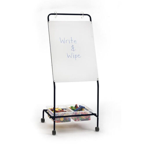 Our Basic Chart Stand - Dry Erase Board and Storage Tubs is on sale now.