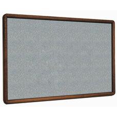 2600 Series Tackboard with Bullnose Wood Face Frame - Claridge Cork - 96