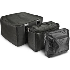Portable File Tote with One Cooler Bag and One Tablet Case