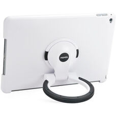 MultiStand for iPad Air 2 - White Shell with White and Black Ring