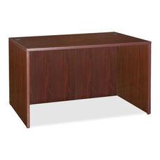 Lorell Laminated Desk - 47 -1/4''W x 23 -3/5''L x 29 -1/2''H - Mahogany