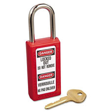 Master Lock® Lightweight Zenex Safety Lockout Padlock - 1 1/2