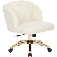 Ave Six Ellen Office Chair - Cream