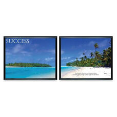 Advantus Success Panorama Framed Prints - Pack Of 2