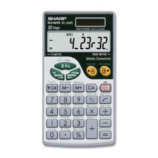 Sharp El344Rb Metric Conversion Calculator
