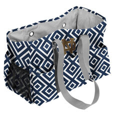 University of Notre Dame Team Logo Double Diamond Junior Carry All Caddy