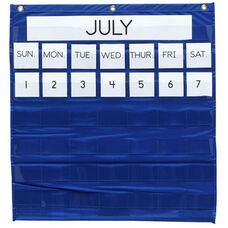 Pacon Monthly Calendar Pocket Chart - 25