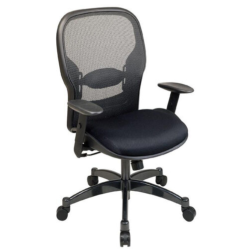Our Space Professional Breathable Mesh Back Managers Chair with Adjustable Arms and Mesh Seat is on sale now.