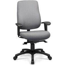 Art Deco Task Chair with High Backrest - Grade B